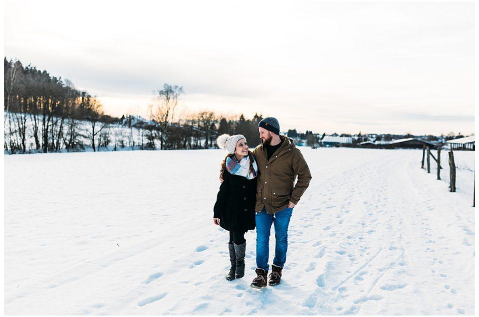 LUANA & BENNI Schneeshooting in Mülben